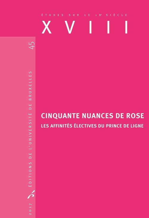 Cinquante nuances de rose  - Manuel Couvreur
