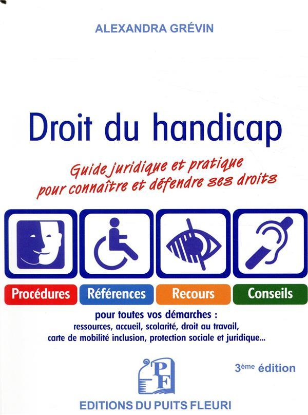 Droit du handicap (3e édition)