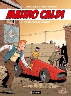 Mauro Caldi t.6 ; les voleurs de Ferrari