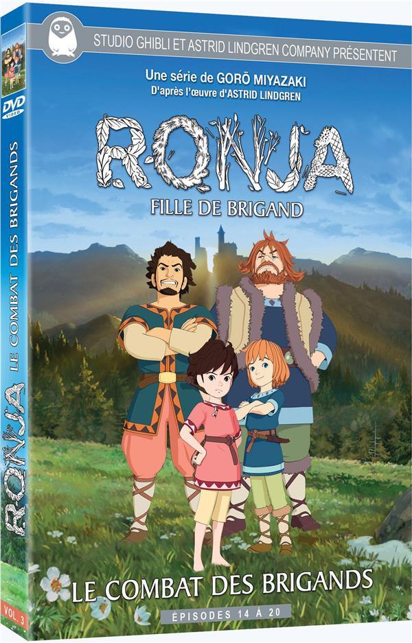 Ronja, fille de brigand - Vol. 3 - Le Combat des brigands - Épisodes 14 à 20