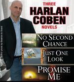 Vente Livre Numérique : 3 Harlan Coben Novels: Promise Me, No Second Chance, Just One Look  - Harlan COBEN