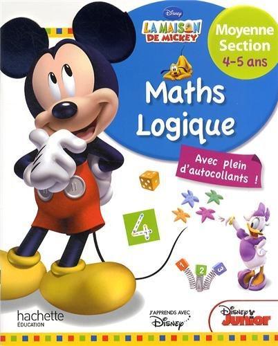Mickey ; mathématiques-logique ; moyenne section ; 4/5 ans