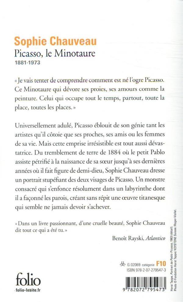 Picasso ; le minotaure adulé