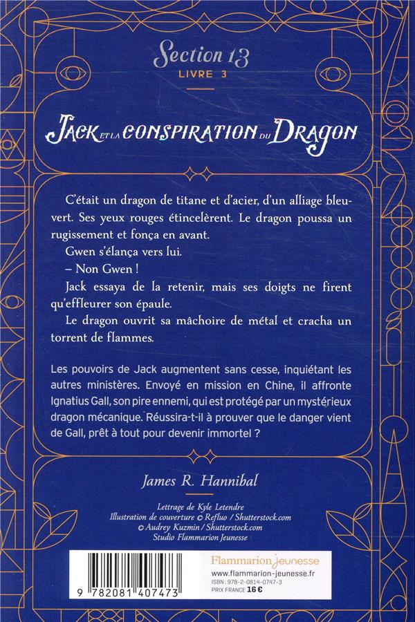 Jack et la conspiration du dragon