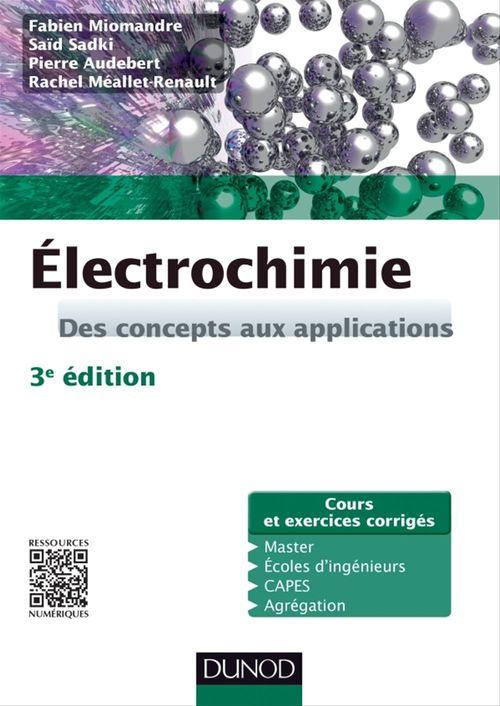 Électrochimie - 3e édition