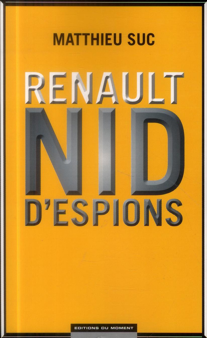 Renault ; nid d'espions