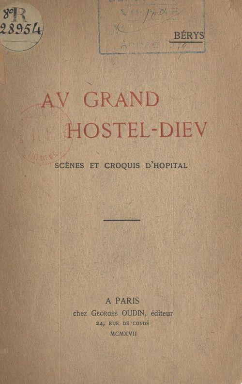 Au Grand Hostel-Dieu