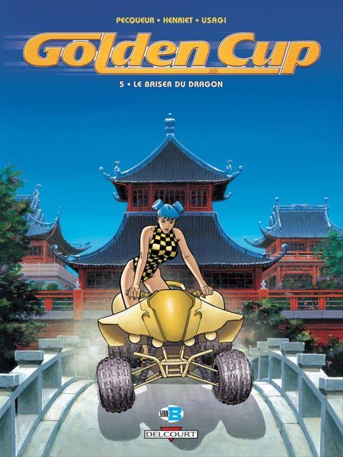Golden Cup t.5 ; le baiser du dragon