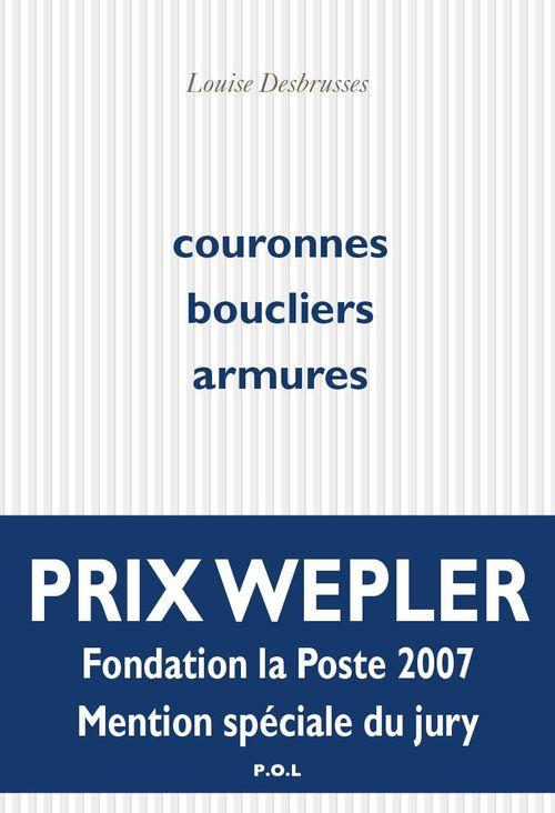 Couronnes boucliers armures