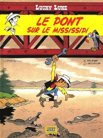 Lucky Luke t.32 ; le pont sur Le Mississipi