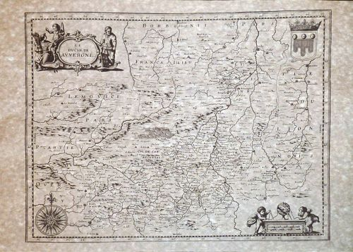 Auvergne en 1640