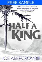 Vente EBooks : Half a King: free sampler (Shattered Sea, Book 1)  - Joe Abercrombie
