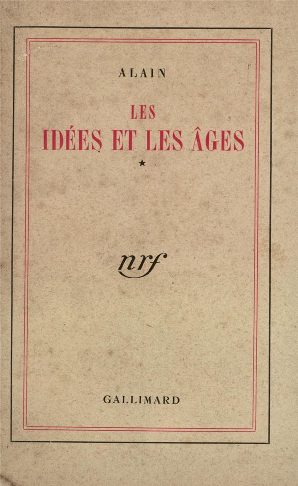 Les idées et les âges
