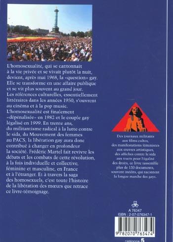 Culture et societe - t417 - la longue marche des gays
