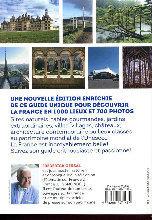 1000 lieux qu'il faut avoir vus en France (édition 2019)
