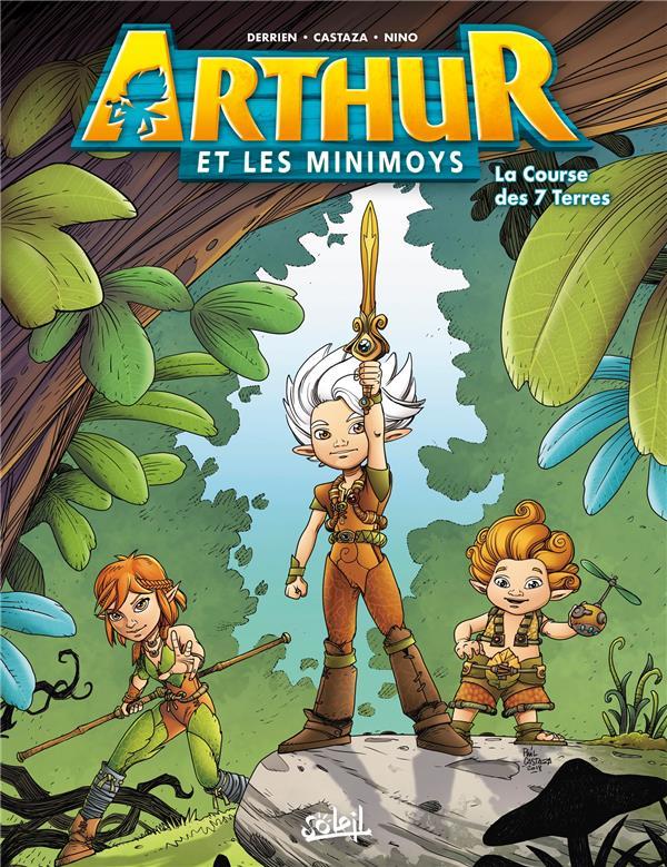 Arthur et les Minimoys t.1 ; la course des 7 terres