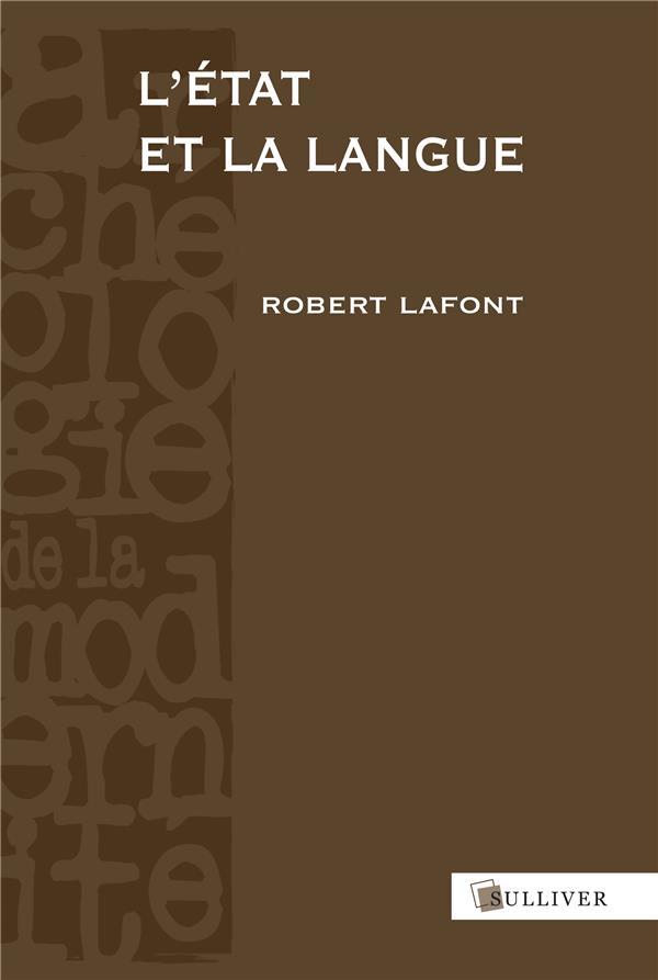 L'état et la langue