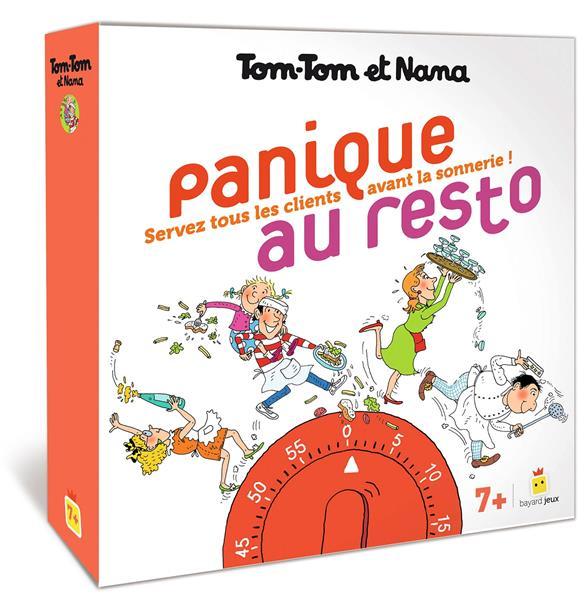 Tom-Tom et Nana ; panique au resto ; jeu