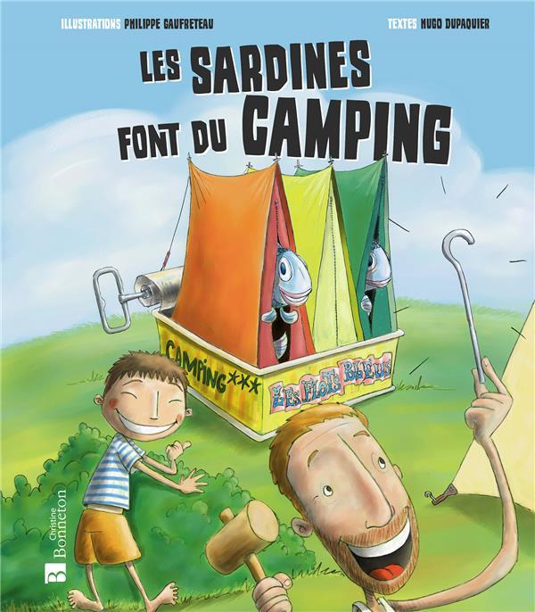 Les sardines font du camping