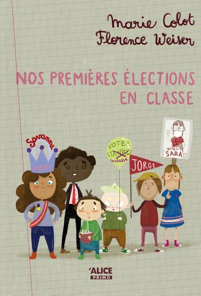 Nos premières élections en classe