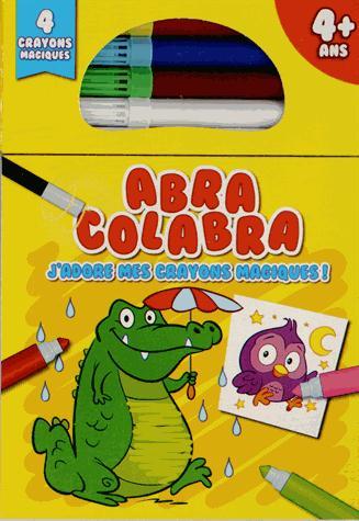 Abra colabra ; j'adore mes crayons magiques ! (crocodile)