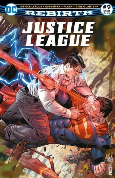Justice league rebirth n.9 ; lois et clark se marient ?