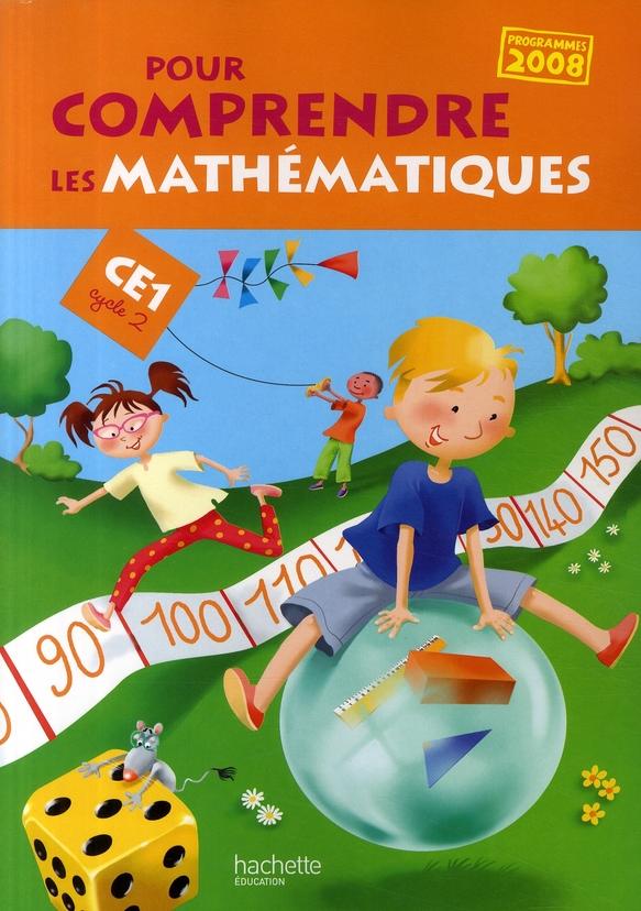 Pour Comprendre Les Mathematiques; Ce1 ; Cycle 2 ; Fichier De L'Eleve