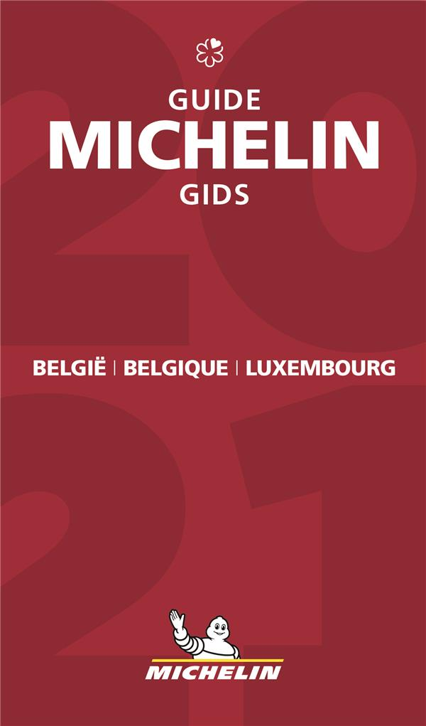 Guide rouge ; België Belgique Luxembourg ; guide Michelin gids (édition 2021)