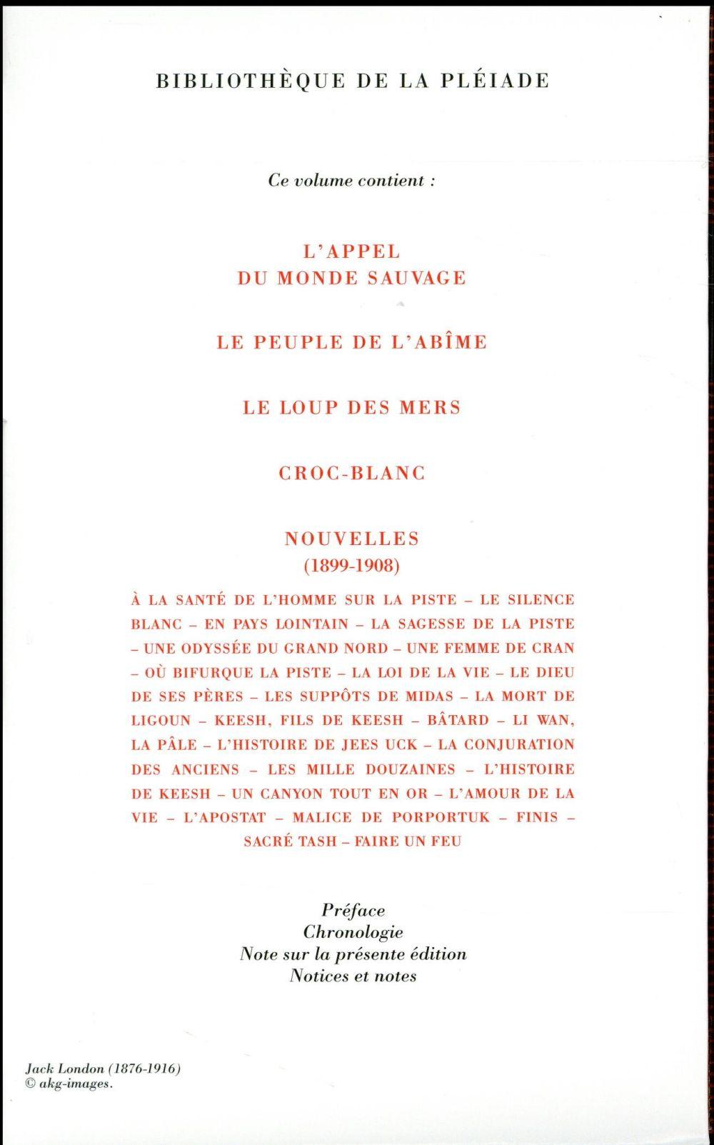 Jack London, romans, récits et nouvelles t.1