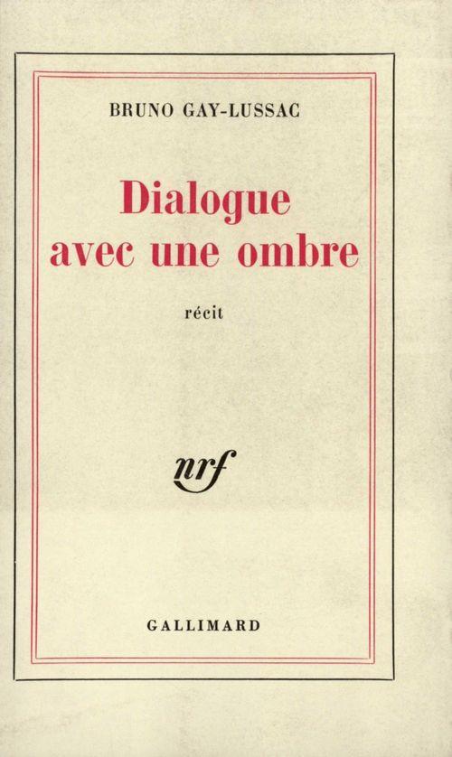 Dialogue avec une ombre