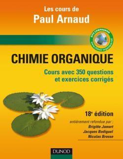 Cours De Chimie Organique - 18e Edition