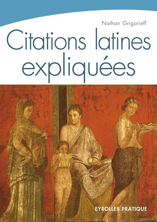 CITATIONS LATINES EXPLIQUEES