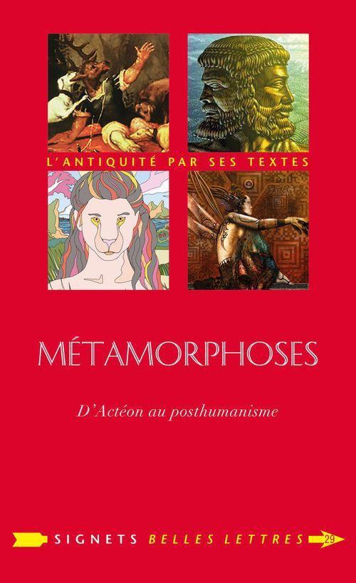 Métamorphoses, de Actéon au posthumanisme