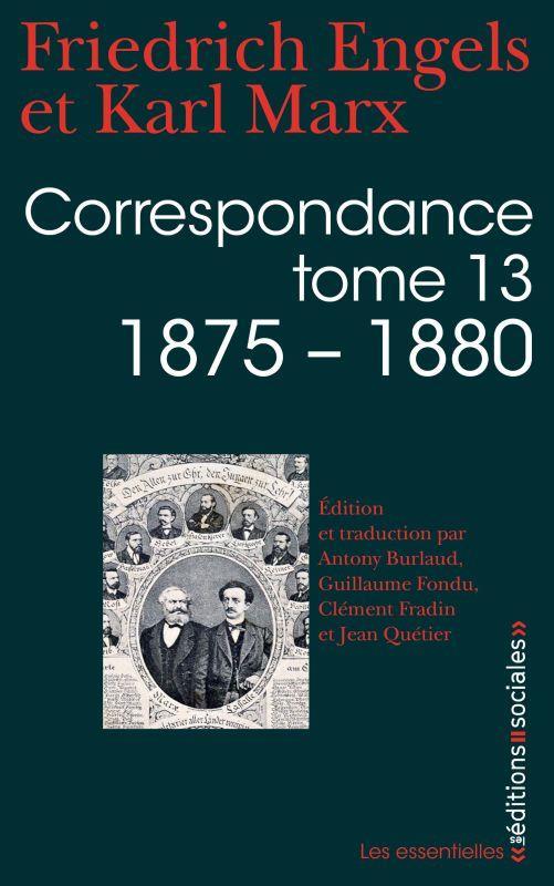 Correspondance t.13 ; 1875-1880