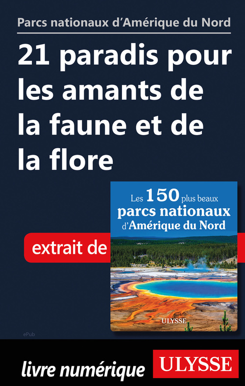 Vente EBooks : 21 paradis pour les amants de la faune et de la flore  - . Collectif