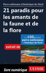 Vente Livre Numérique : 21 paradis pour les amants de la faune et de la flore  - . Collectif