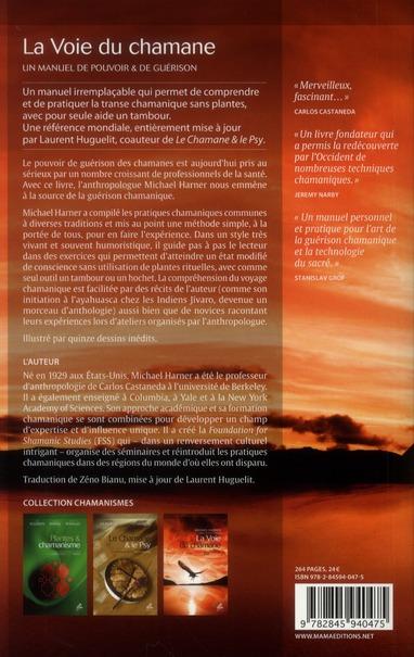 la voie du chamane ; un manuel de pouvoir et de guérison