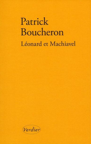 Leonard Et Machiavel