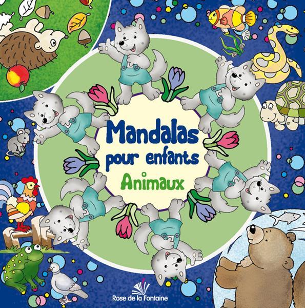 Mandalas pour enfants animaux
