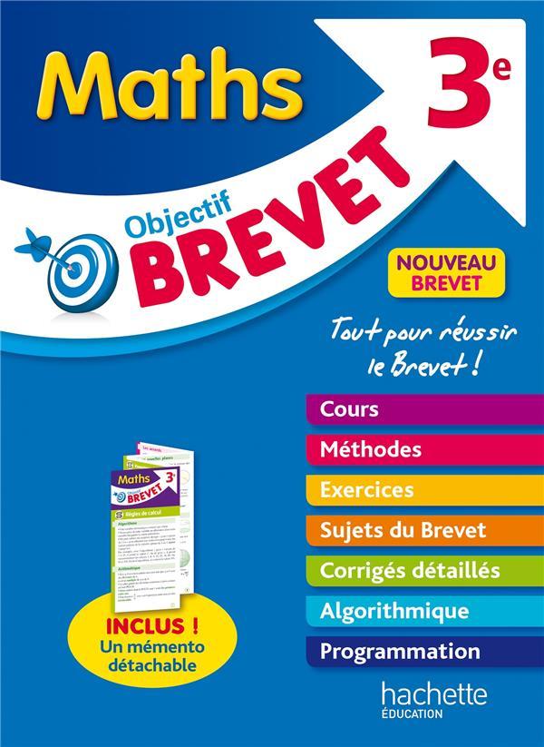 Objectif brevet ; maths ; 3e