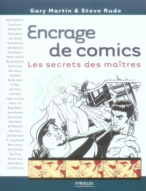 Encrage de comics ; les secrets des maîtres