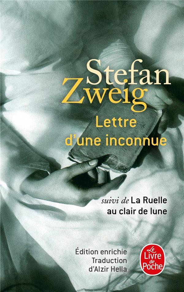 LETTRE D'UNE INCONNUE  -  LA RUELLE AU CLAIR DE LUNE