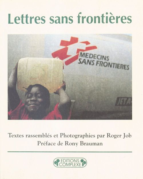 Lettres sans frontieres correspondance des humanitaires en m
