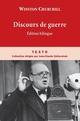 DISCOURS DE GUERRE - BILINGUE