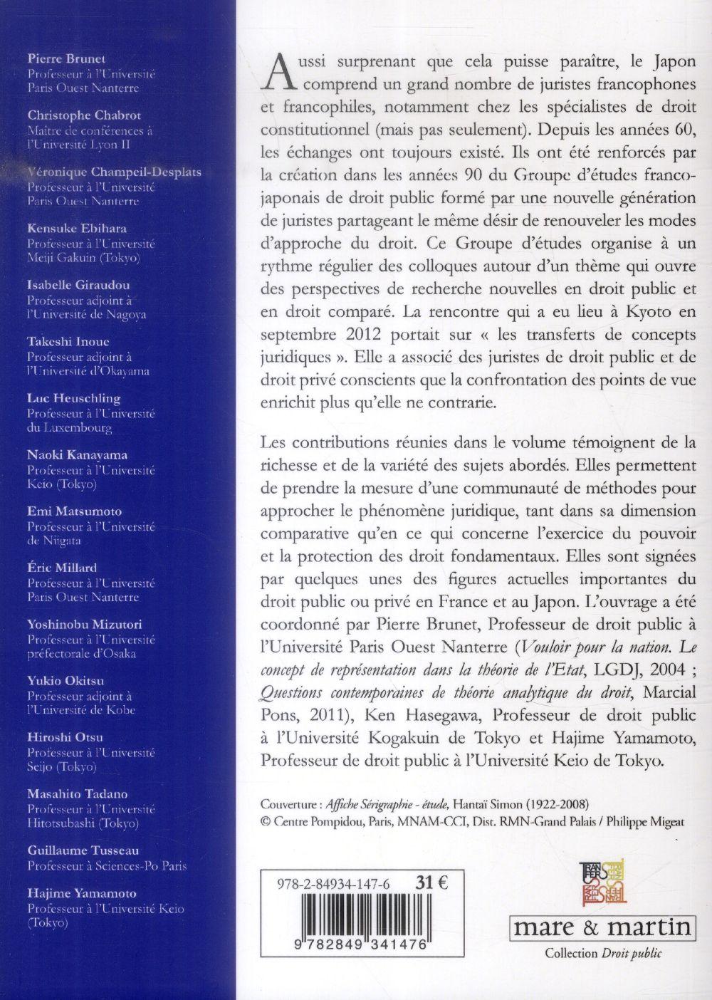Rencontres franco-japonaises autour des transferts de concepts juridiques | rap-culture.fr