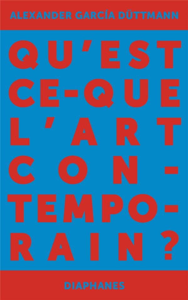 Qu'est-ce que l'art contemporain ?