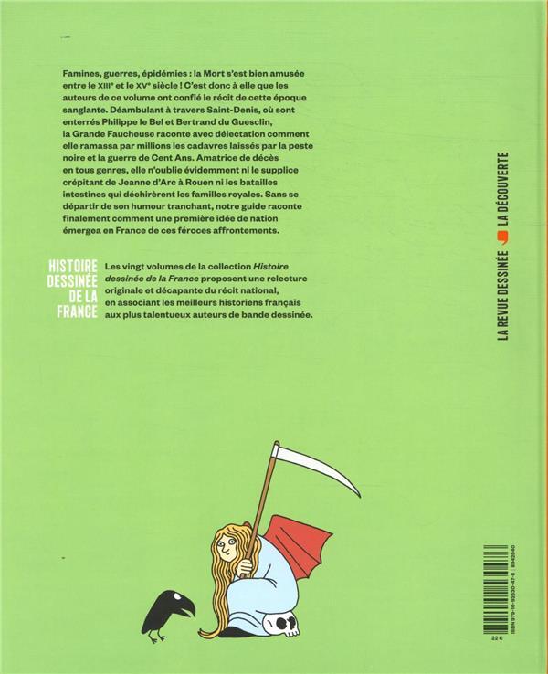 Histoire dessinee de la france n.8 ; a la vie, a la mort : des rois maudits a la guerre de cent ans