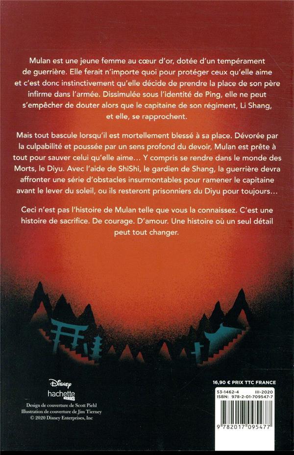 Réflexion ; twisted tale ; et si Mulan avait dû voyager dans le monde des morts ?