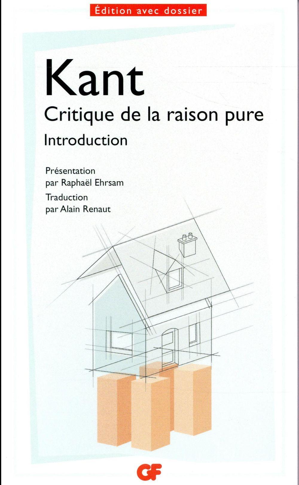 Critique de la raison pure ; introduction