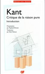 Critique de la raison pure ; introduction
